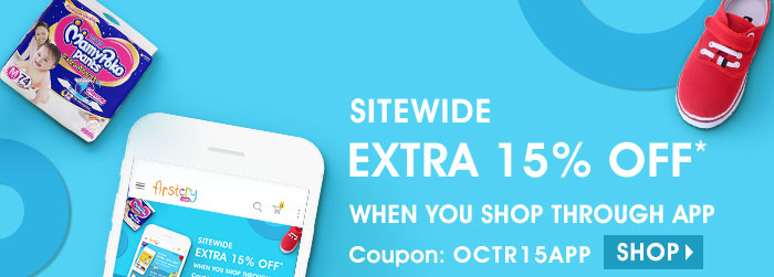 Sitewide - Extra 15% OFF* When you shop through App