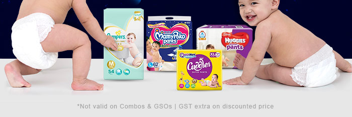 *Not valid on Combos & GSOs | GST extra on discounted price