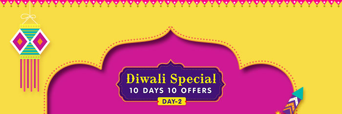 Diwali Special : 10 Days 10 Offers  |  Day - 2