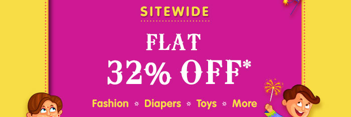 SITEWIDE  -  Flat 32% OFF  |  Coupon: NOV32