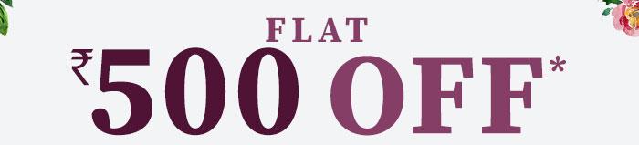 Flat Rs. 500 OFF