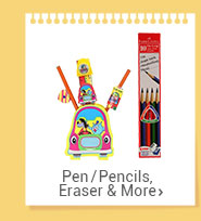 Pen/Pencils, Eraser & More
