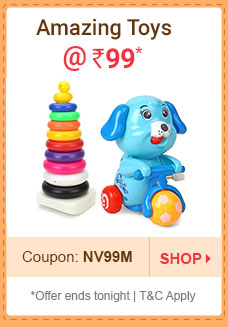 Amazing Toys @ Rs. 99* | Coupon: NV99M