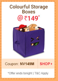 Foldable Storage Boxes @ Rs. 149* | Coupon: NV149M