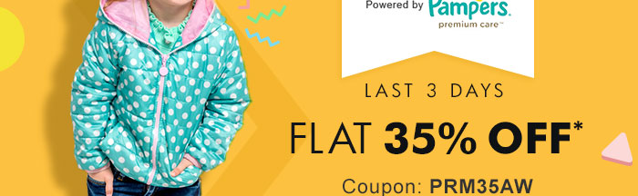 Flat 35% OFF* on Entire Premium Range | Coupon: PRM35AW
