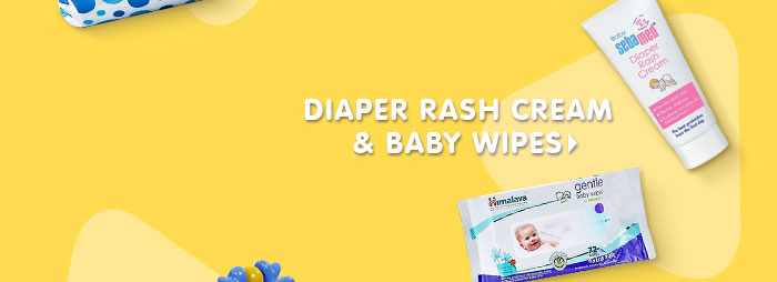 Diaper Rash Cream & Baby Wipes