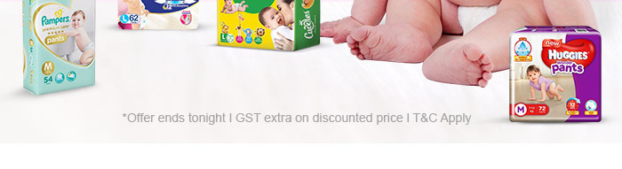 *Offer ends tonight | GST extra on discounted price | T & C Apply