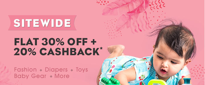 Sitewide_Flat 30% OFF   20% Cashback*