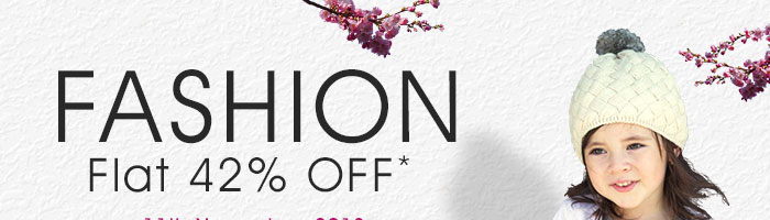 Fashion_Flat 42% OFF*