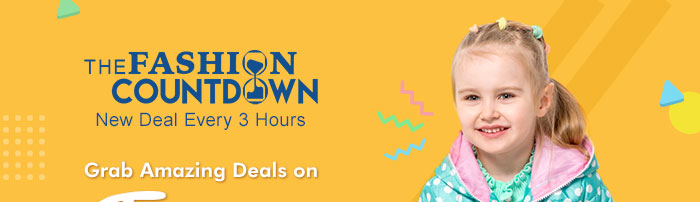 The Fashion Countdown | New Deal Every 3 Hours