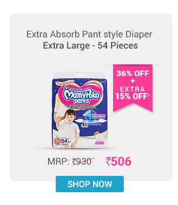 MamyPoko Extra Absorb Pant Style Diapers Extra Large