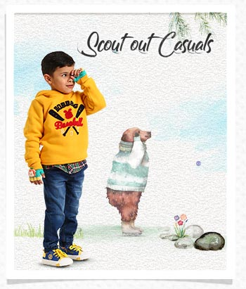 Scout out Casuals