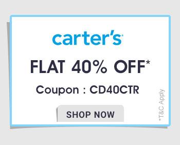 Carter's - Flat 40% OFF*