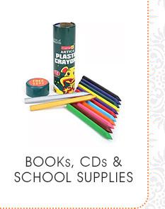 Books & CDs & School Supplies