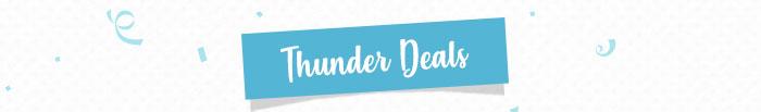 Thunder Deals