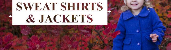 Sweat Shirts & Jackets
