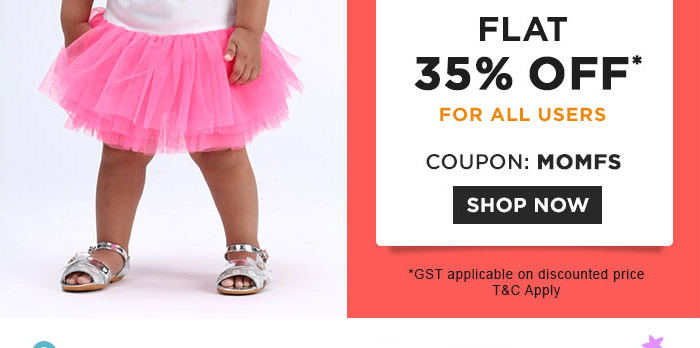 Fashion Flat 35% OFF* For All Users