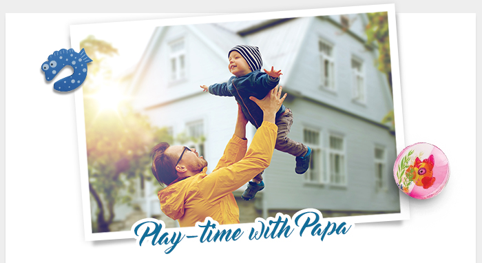 Play-time with Papa