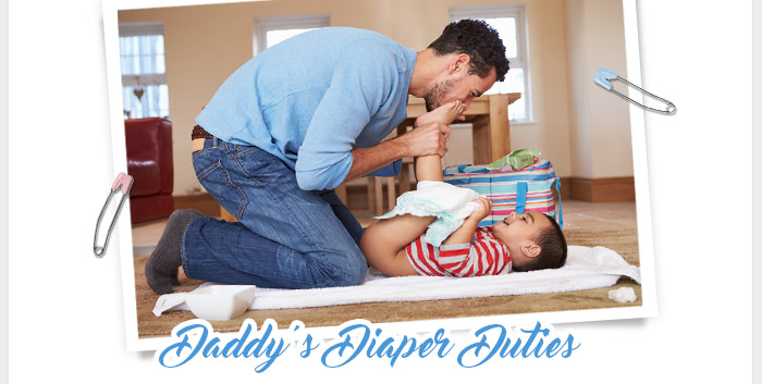 Daddy's Diaper Duties