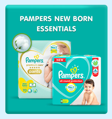 Pampers New Born Essentials