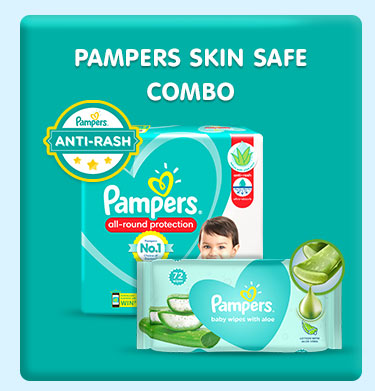 Pampers Skin Safe Combo