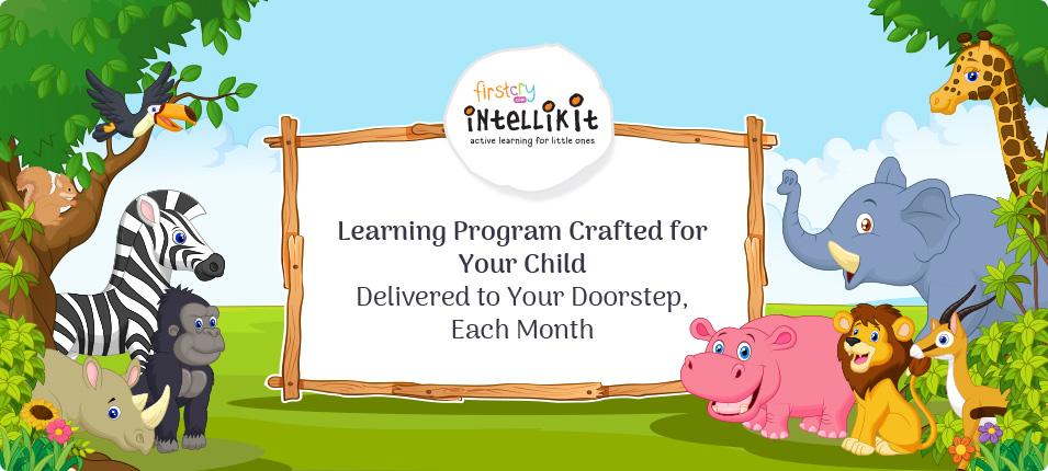 Intellikit : Learning Program 2 to 3 years