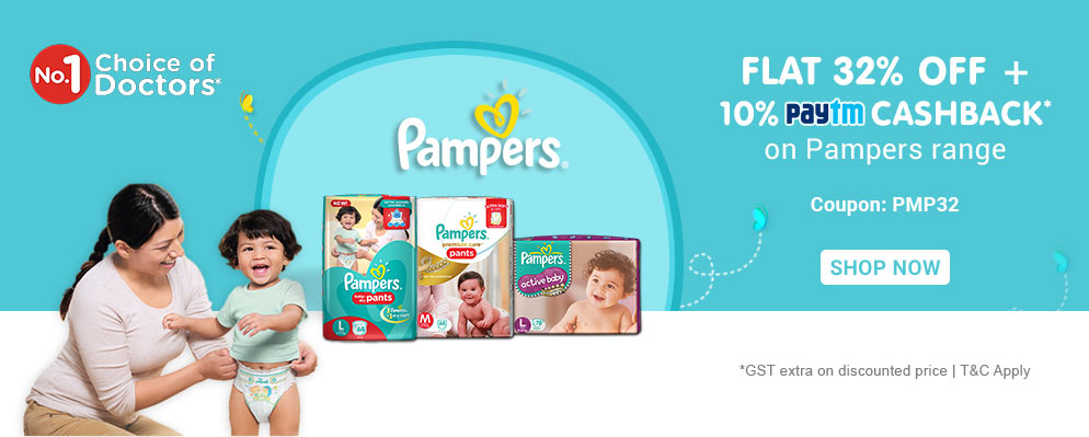 off on Pampers