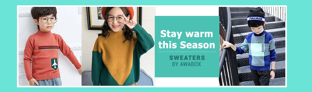 Stay warm this Season | Up to 6Y
