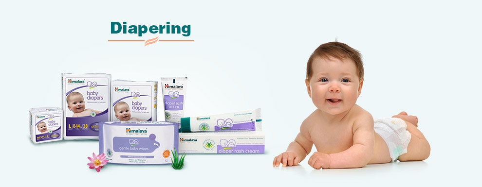 Himalaya Herbal Diapers, Wipes & Creams