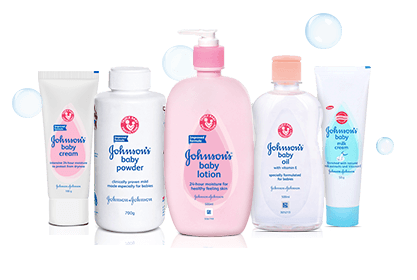 Johnson's Skin Care Products
