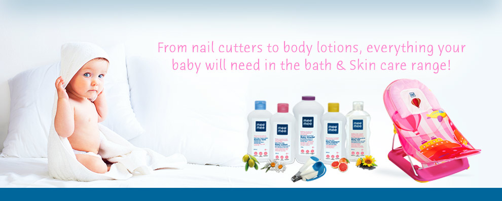 Mee Mee Baby Bath & Skin Care Products