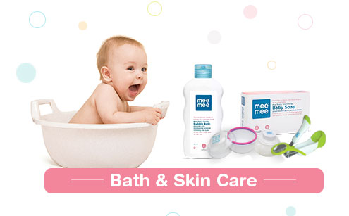 Mee Mee Baby Bath & Skin Care