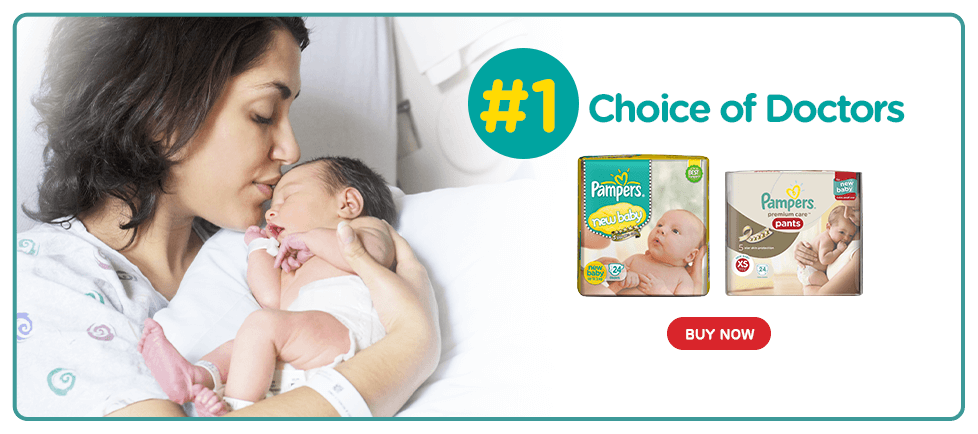 Pampers - Best Skin Protection for Newborns