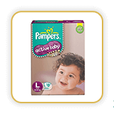 Pampers Active Baby Diapers