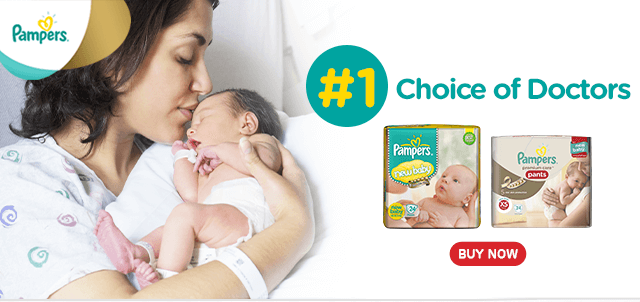 Pampers – Best Skin Protection for Newborns