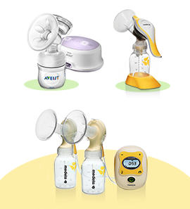 Types of Breast Pumps