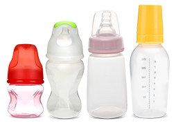 Types of Feeding Bottles and Nipples