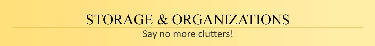 Storage & Organizations