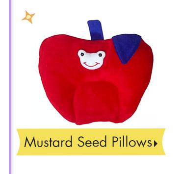 Mustard Seed Pillows