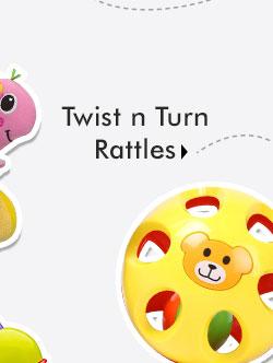 Twist n Turn Rattles