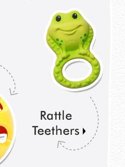 Rattle Teethers