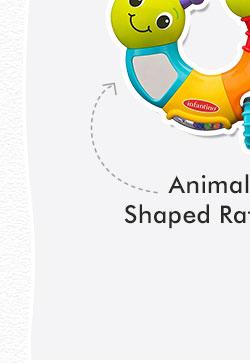Animal Shaped Rattles