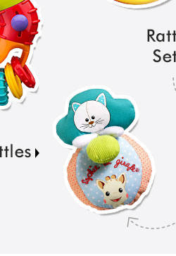 Soft Toy Rattles