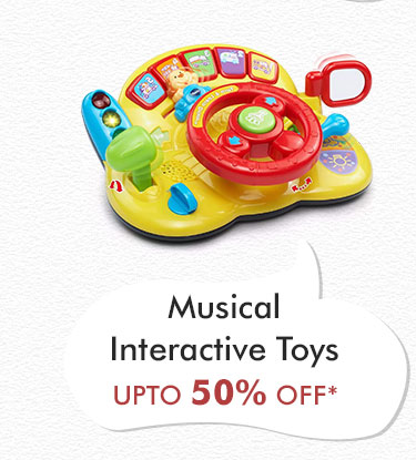 Musical Interactive Toys