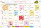 A Learning Calendar