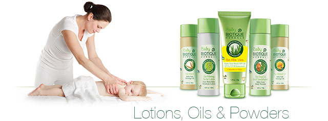 Baby Biotique Natural Baby Care Products