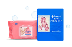 Johnson's Baby Wipes & Nappy Pads