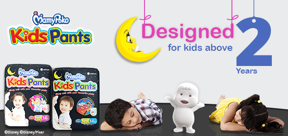 Mamypoko Kids Pants designed for  kids above 2 years