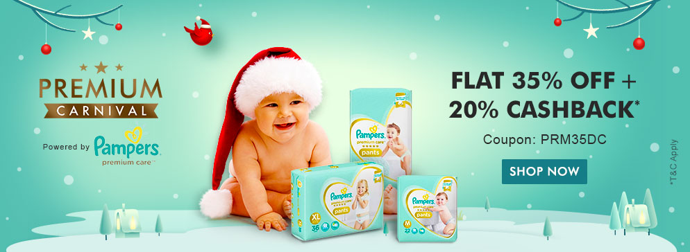 Pampers Premium Care Pants  - Flat 35% OFF*