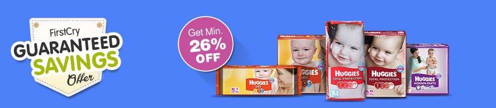 Huggies Guaranteed Savings offer